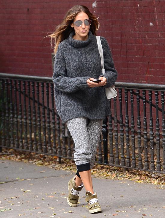 Сара Джессика Паркер в Нью-Йорке, 7 октября 2014 года
