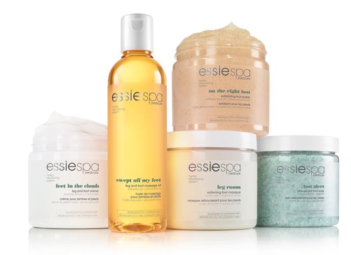Essie выпустили новую гамму средств для ухода Spa Pedicure