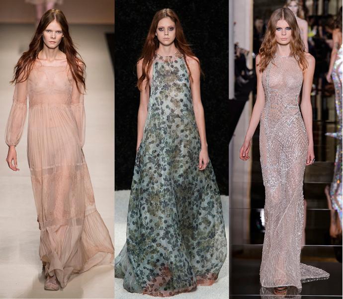 Подиум: Alberta Ferretti, Vera Wang, Versace