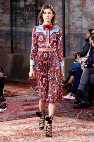 Дом Gucci представил новую круизную коллекцию 2016 | галерея [2] фото [9]