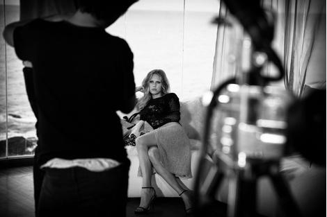 Дочь Шона Пенна Дилан стала лицом бренда Ermanno Scervino | галерея [1] фото [12]