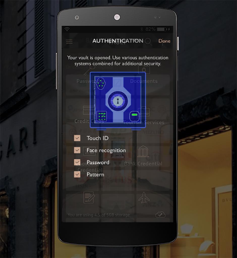 Bulgari выпустил приложение для хранения данных