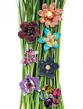 Кольца-цветы
