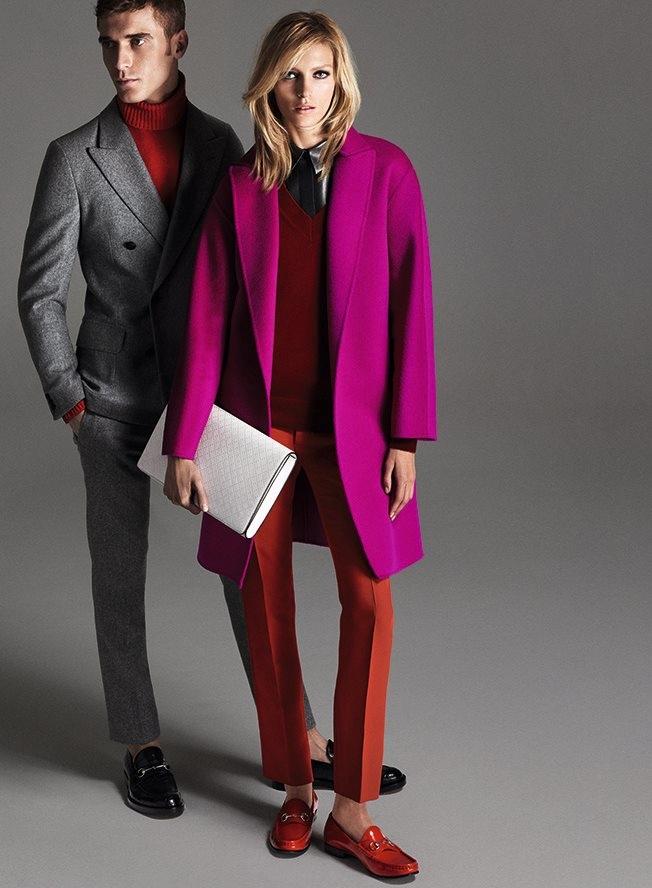 Модные пальто осень-2014