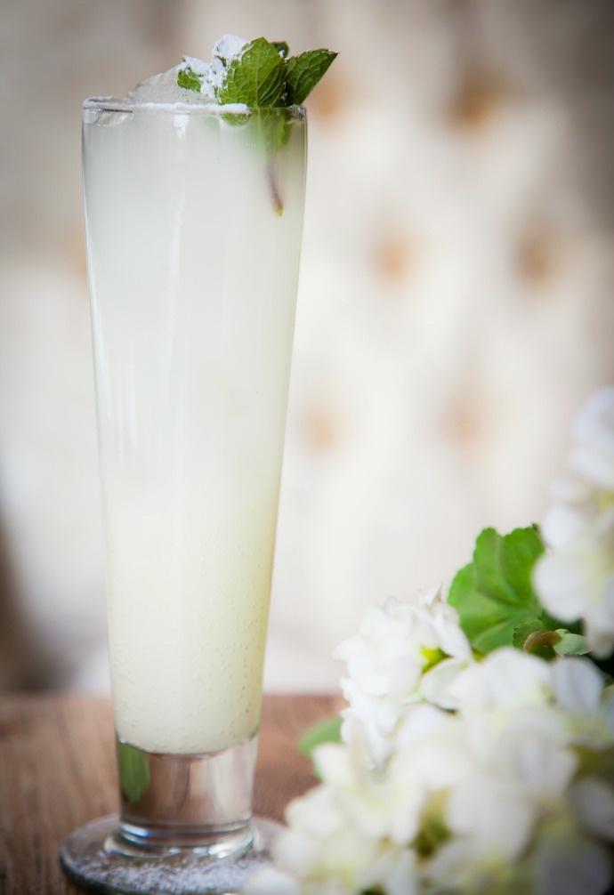 Белый лимонад
