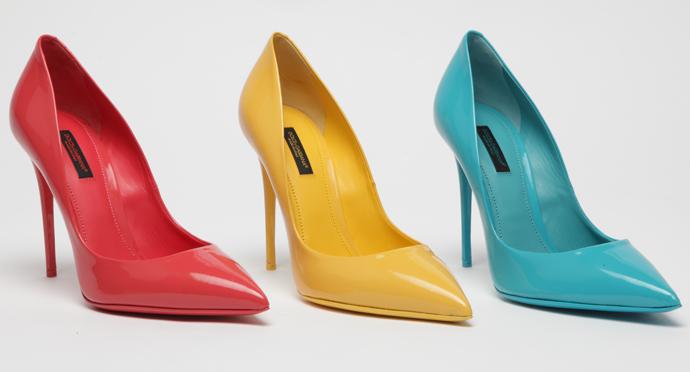 Dolce & Gabbana презентовали новую коллекцию туфель Kate фото 2