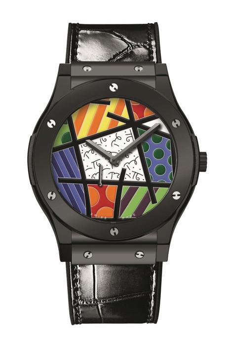 Hublot выпустил арт-версию часов Classic Fusion Enamel