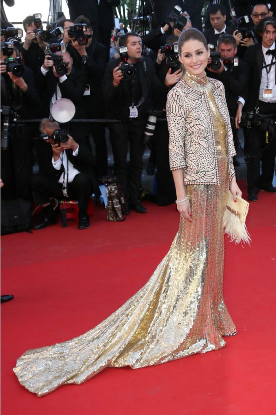 Оливия Палермо на премьере фильма «Иммигрантка»