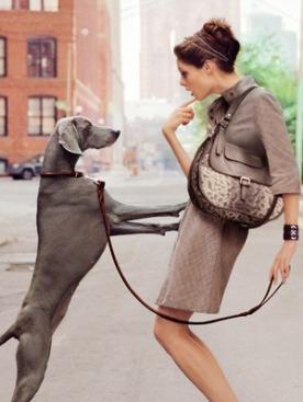 Рекламная кампания Longchamp весна-лето 2012