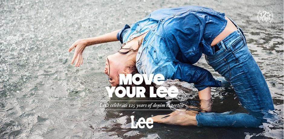 Джинсы LEE Scarlett, визуально удлиняющие ноги