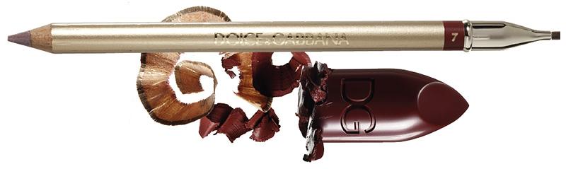 стойкая помада и карандаш Dolce & Gabbana