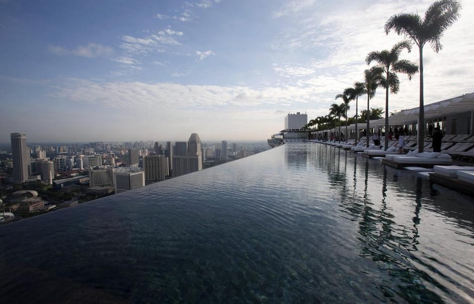 Крыша отеля Marina Bay Sands (Сингапур)