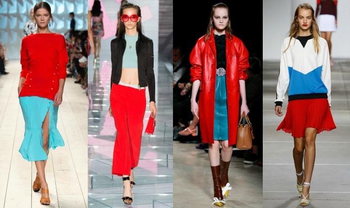 Nina Ricci, Versace, Prada, Topshop Unique