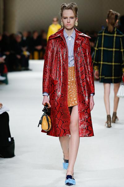 Неделя моды в Париже: показ Miu Miu pret-a-porter осень-зима 2015/16 | галерея [1] фото [22]