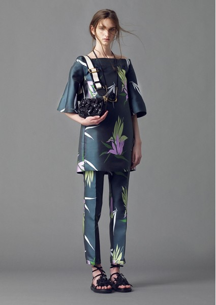 Новая коллекция Marni Evening collection