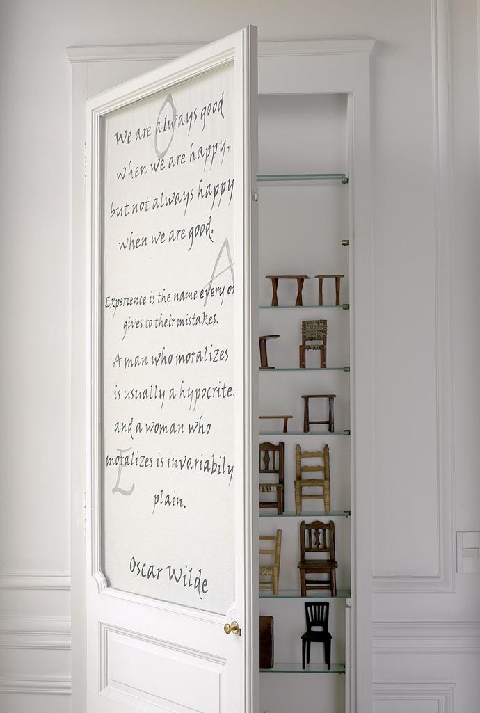 Шрифты в интерьере