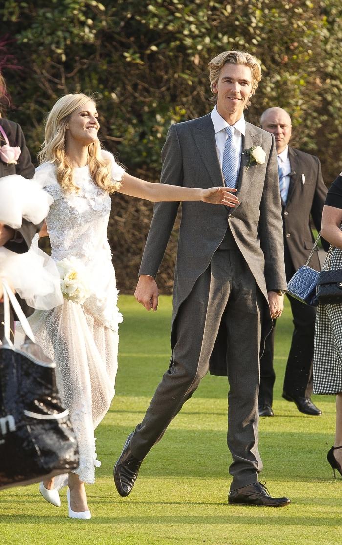 Свадьба Поппи Делевинь: фото