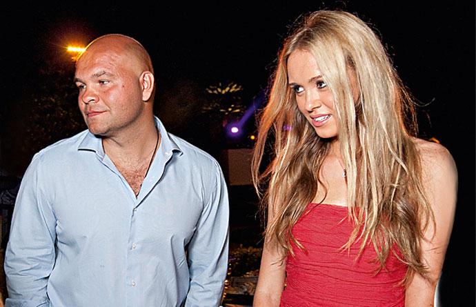 Сергей Говядин и Ксения Сухинова