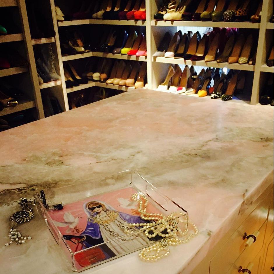 Обувная гардеробная Блэйк Лайвли