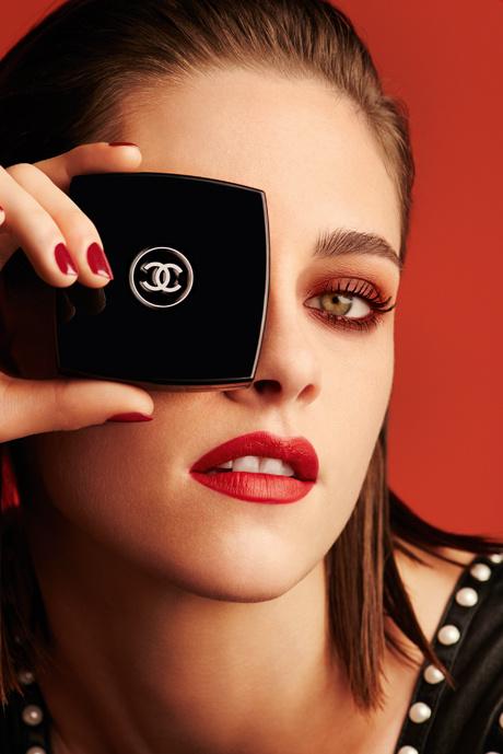 Кристен Стюарт в новой рекламной кампании Chanel Le Rouge — Collection №1