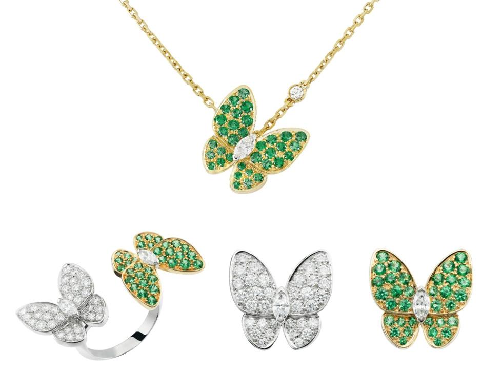 Коллекция Two Butterfly от Van Cleef & Arpels пополнилась новыми украшениями