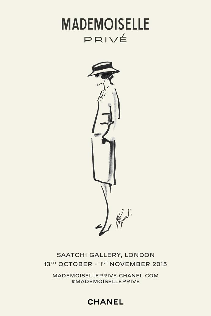 В Лондоне пройдет выставка Chanel Mademoiselle Privé