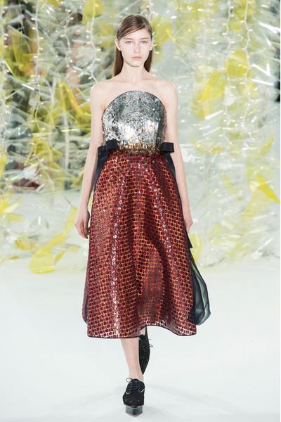 Самые красивые образы Недели моды в Нью-Йорке | галерея [1] фото [24]
