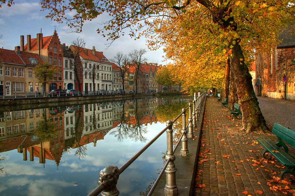 Средневековый Брюгге