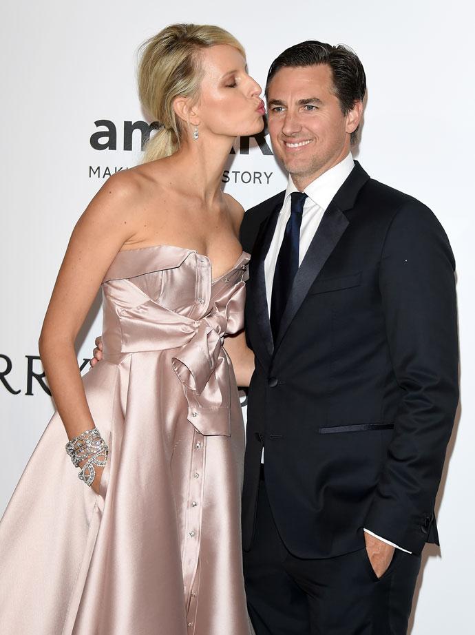 Каролина Куркова с мужем Арчи Друри