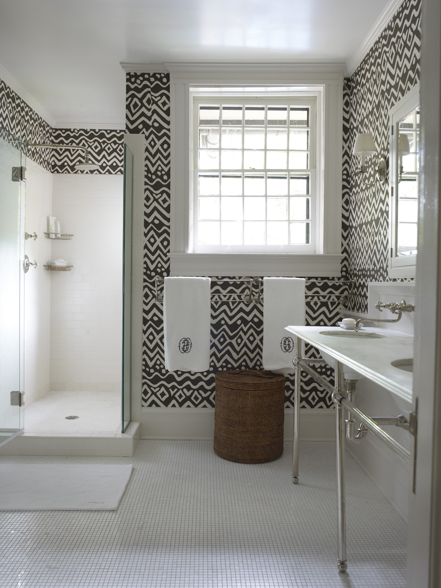 Ванная комната при спальне.