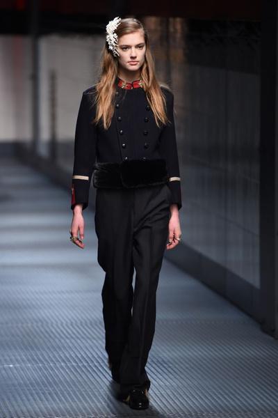 Показ Gucci на Неделе моды в Милане | галерея [1] фото [29]