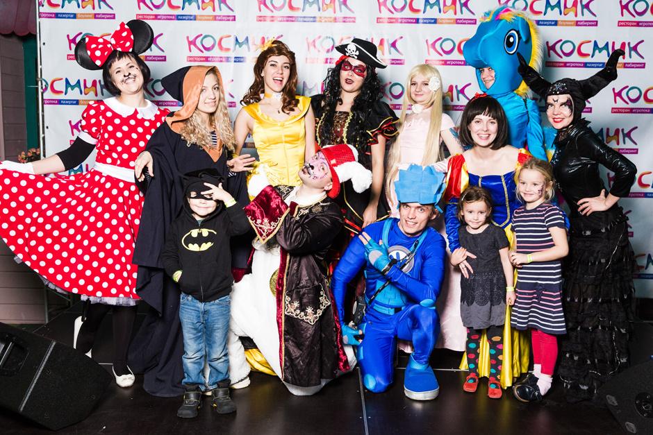 Детский праздник в клубе «Космик»