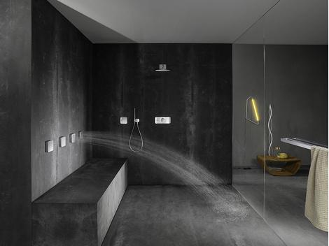 Система управления душем Axor One от дизайнеров Barber & Osgerby | галерея [1] фото [3]