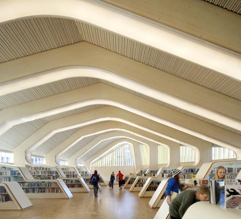 Библиотека Веннесла, Норвегия