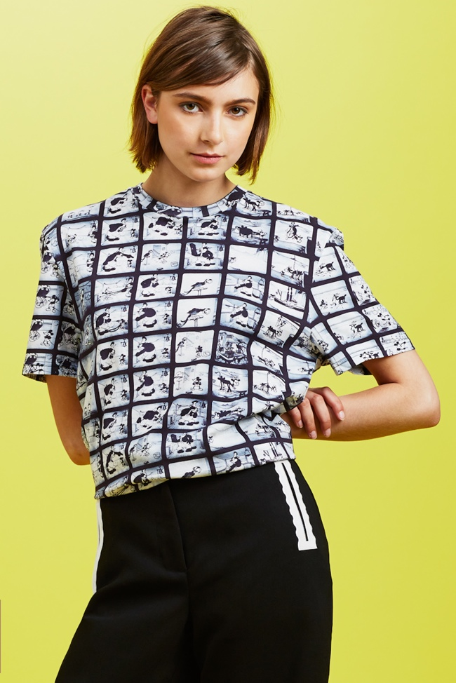 Модные женские футболки с рисунком