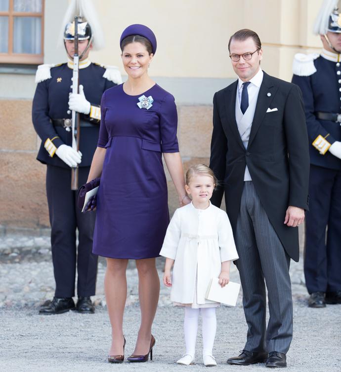Принцесса Виктория, Эстель и принц Даниэль