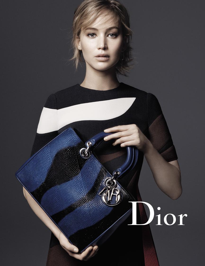 Дженнифер Лоуренс снялась для Christian Dior