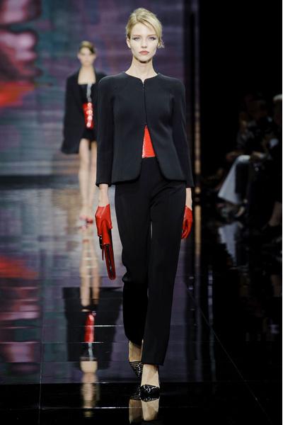 На Неделе Высокой моды в Париже прошел показ Armani Privé