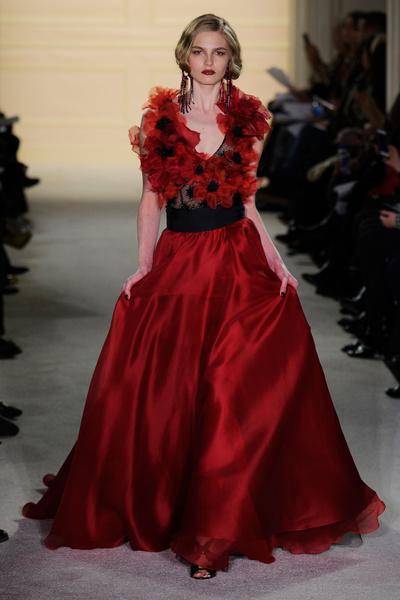 Показ Marchesa на Неделе моды в Нью-Йорке   галерея [1] фото [2]