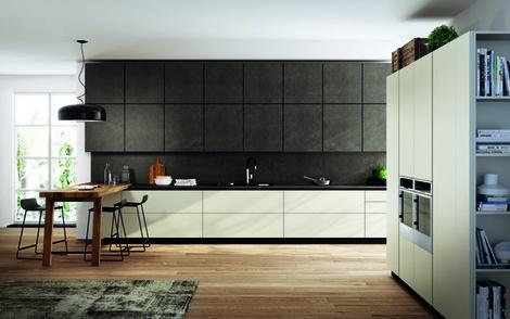 Кухни с фасадами из керамогранита от Scavolini | галерея [1] фото [4]