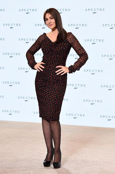 Моника Беллуччи (в платье Dolce & Gabbana)