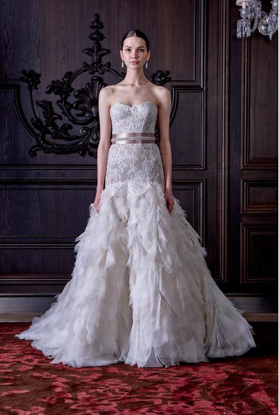 50 самых красивых платьев со Свадебной Недели Моды в Нью-Йорке | галерея [1] фото [26]