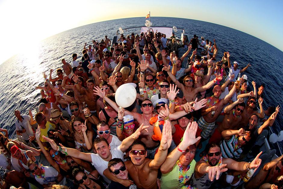 Ибица/Вечеринки на яхтах Sails Up!