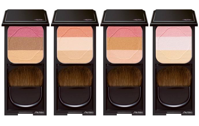 Трио румян Face Color Enchancing Trio от Shiseido