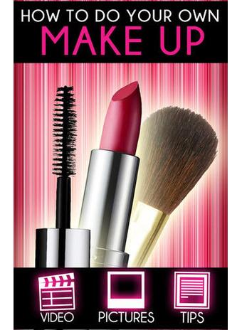 Приложение «Как сделать макияж»