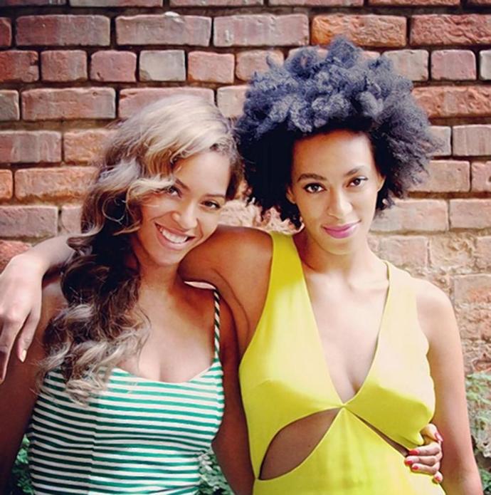 Бейонсе с сестрой Соланж