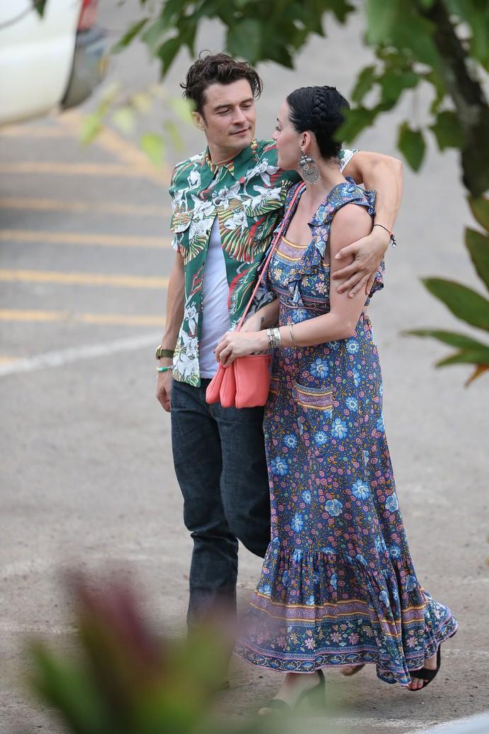 Орландо Блум и Кэти Перри фото