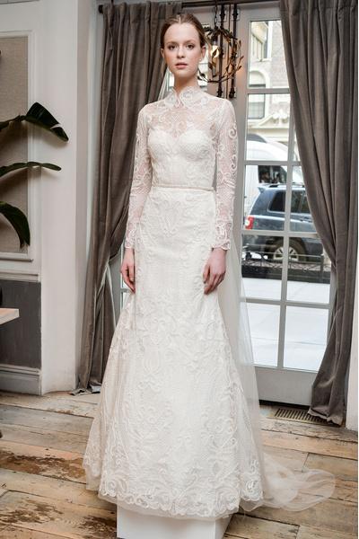 50 самых красивых платьев со Свадебной Недели Моды в Нью-Йорке | галерея [1] фото [30]