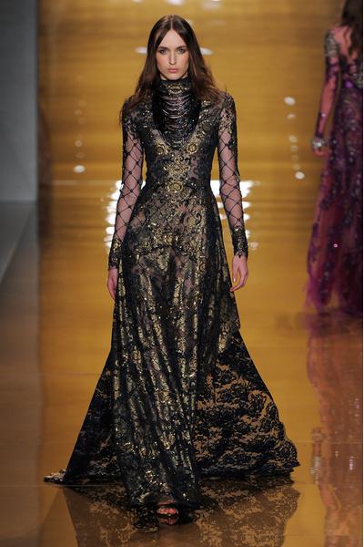 Black tie: показы Carolina Herrera, Reem Acra и Zac Posen на Неделе моды в Нью-Йорке | галерея [3] фото [5]