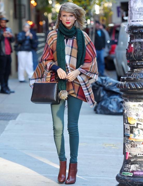 Тейлор Свифт в Нью-Йорке, 14 ноября 2014 года